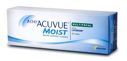 1-Day Acuvue Moist Multifocal 30 блистеров