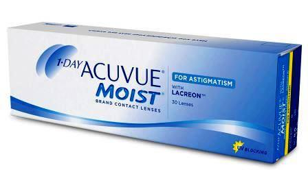 1-Day Acuvue Moist for Astigmatism 30 блистеров